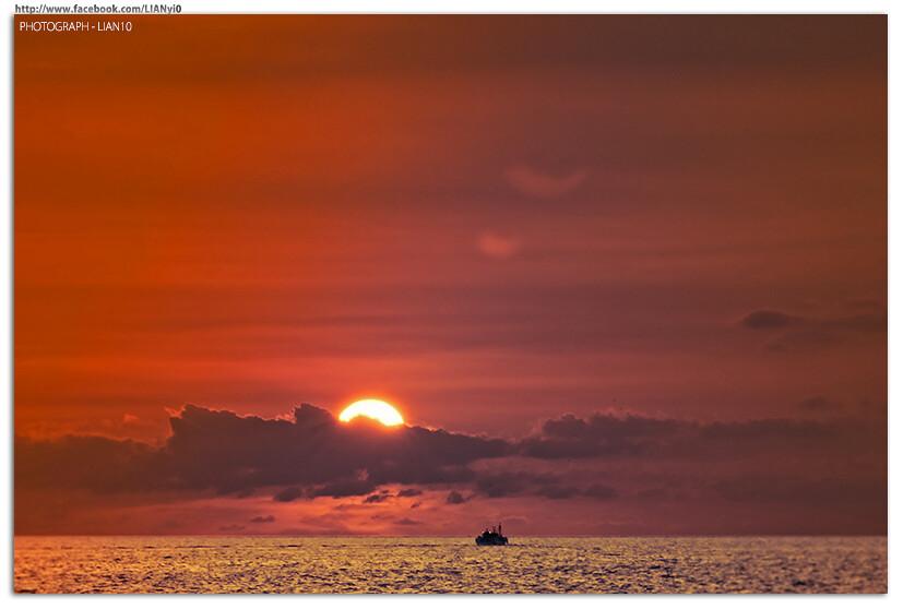 西子灣 日落