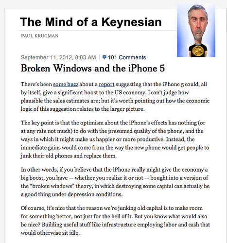 MIND OF A KEYNESIAN by Colonel Flick