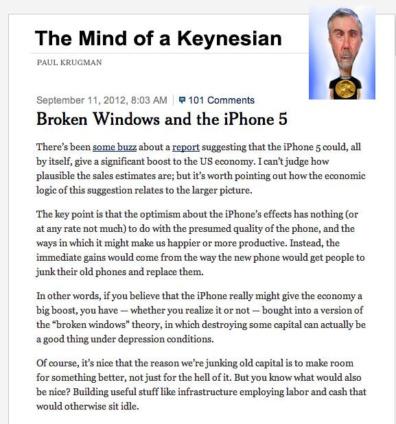 MIND OF A KEYNESIAN