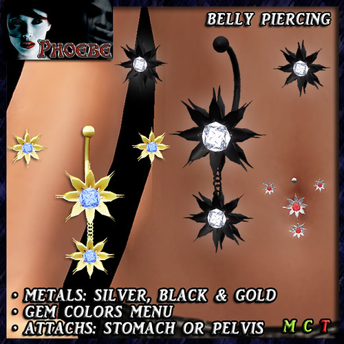 -P- Ivy Belly Piercing