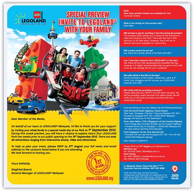 legoland invitation