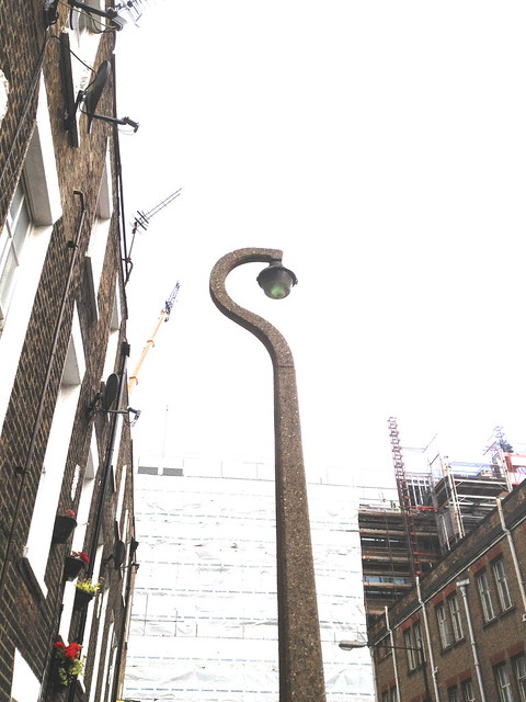 GEC street lamp - London, 2012