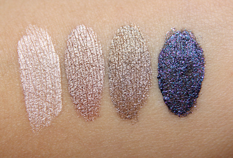 isadora cream mousse eye shadow swatches