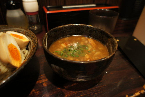 男のつけ麺