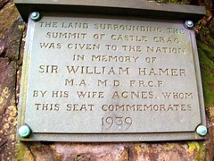 Photo of Slate plaque number 11539