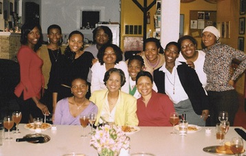 some of the young mothers who have lived and learned at PRH (courtesy of Project Row Houses, via Hatch/DesignPublic)