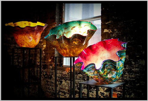 Toronto ON ~ Dale Chihuly Basket Designs ~ First Major Exhibition Here in 2003
