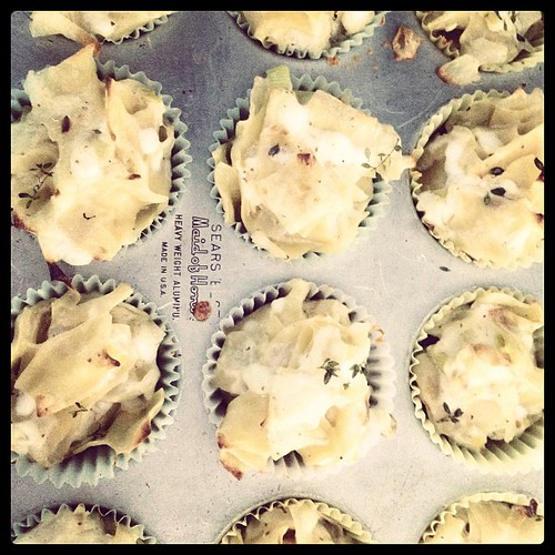 Kugel cupcakes!
