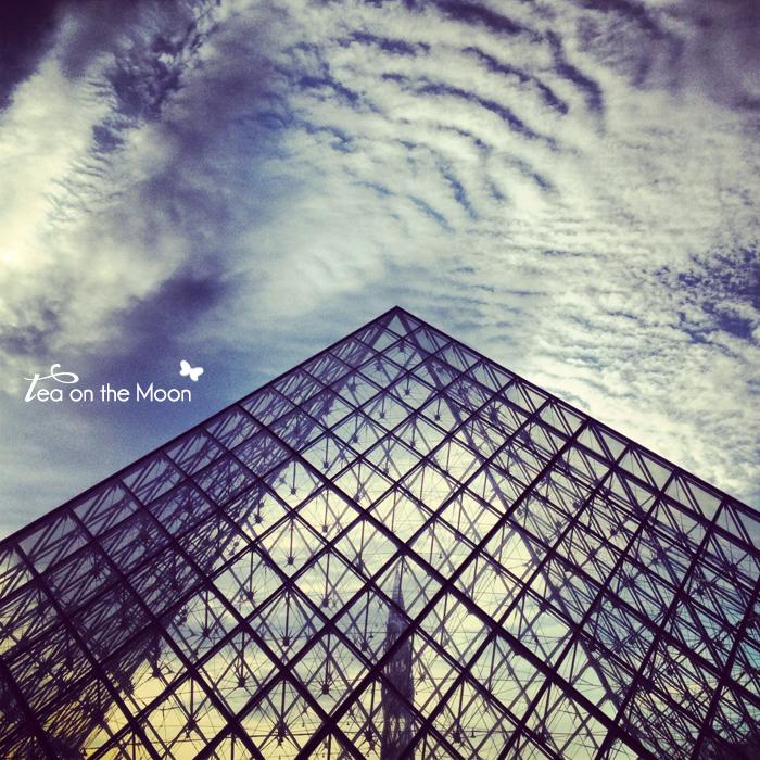 París instragram Museo Louvre piramide