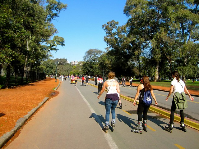 Buenos-aires-palermo rollerblading