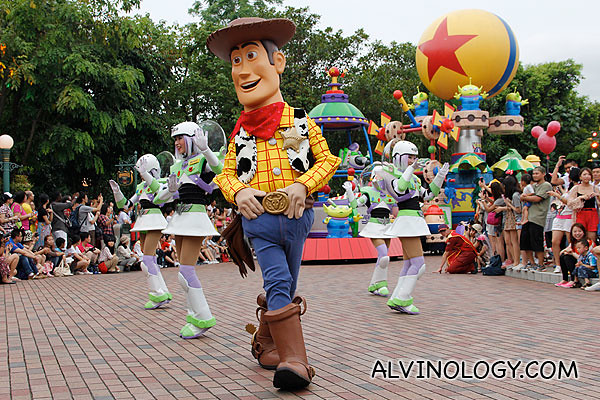 Cowboy Woody, another crowd favourite