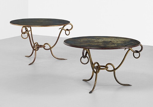Rene Drouet, Coffee Tables, 1940, Lot 265