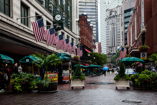 Flag Row [EOS 5DMK2 | EF 24-105L@58mm | 1/100s | f/7.1 | ISO400]