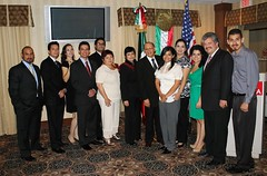 202° Aniversario de la Independencia de México en el Consulado Del Río