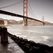 Retro Golden Gate (San Francisco) by Robin Black Photography