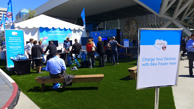 Pedal Power at Dreamforce