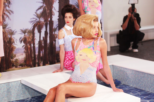 Tata Naka SS13 Pool Party presentation London Fashion Week