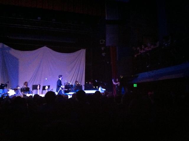 Jherek and Crowdsourced Musicians - Amanda Palmer Concert
