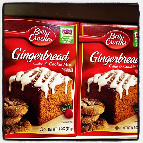 Spotted Christmas quick fix..Betty Crocker's Gingerbread mix !!  @sultan_center love the season of christmas!! #bndq8 #kuwait #sultancenter #tsc #christmas