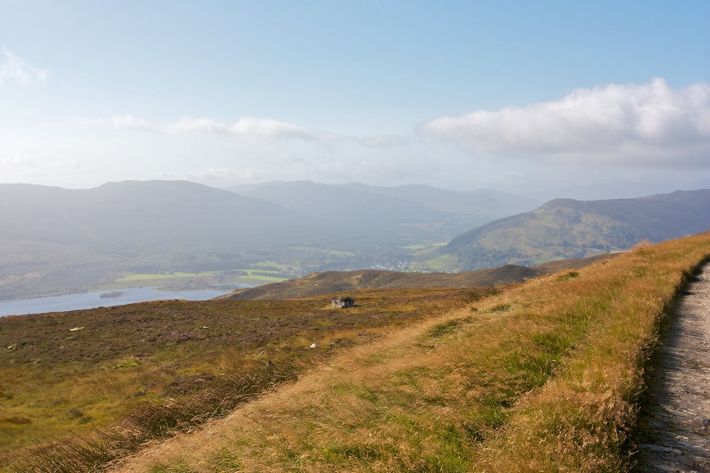 Looking over Killin