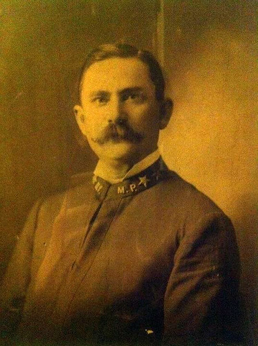 Chief Jerome E Richards, Memphis Police Department, circa 1899