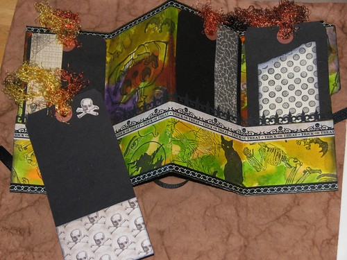 Altered Halloween File Folder Portfolio 003