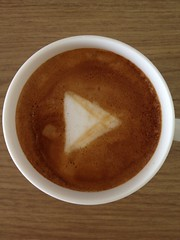 Today's latte, Google Play.