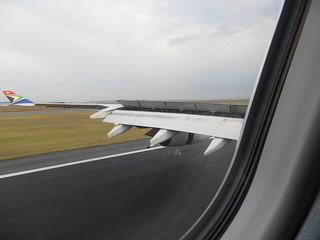 Landung in Johannesburg