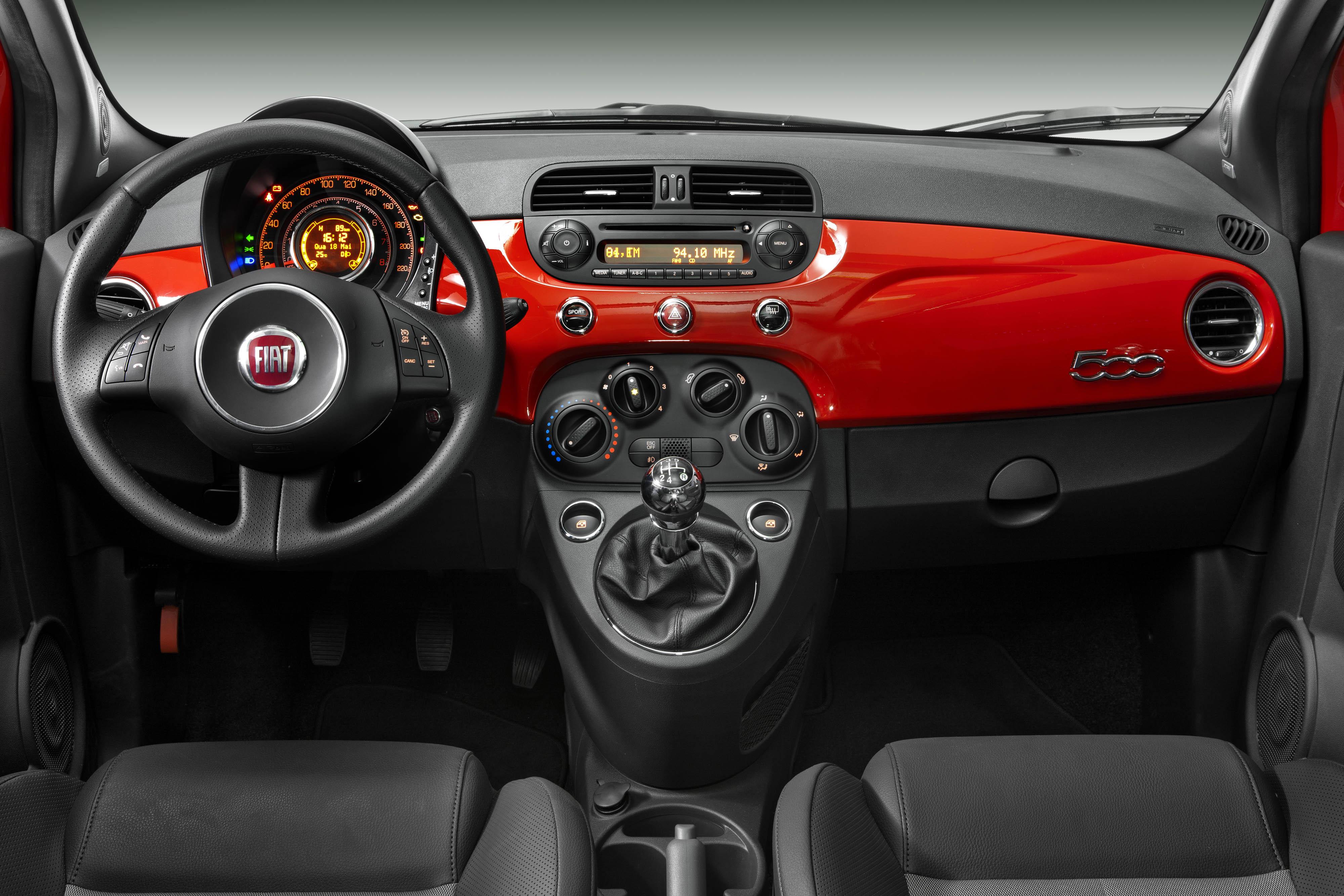 Goede Fiat 500 Sport Air 1.4 16v 2011 (Interior) | SB-67