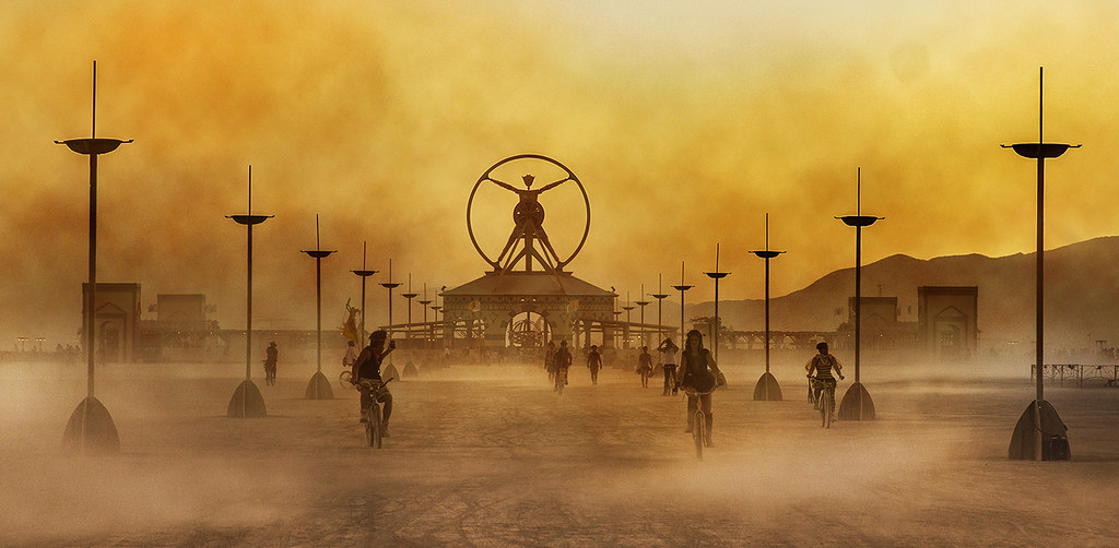 Burning Man 2016 | Sunset