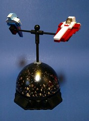 Asteroid Field Chase Mobile Balance Toy