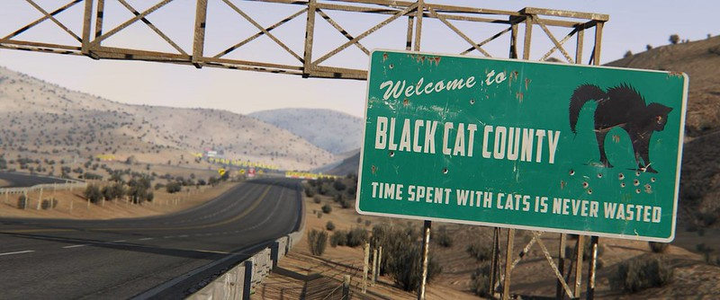 Assetto Corsa Black Cat Country track