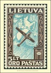 Stamps Litauen Lietuva