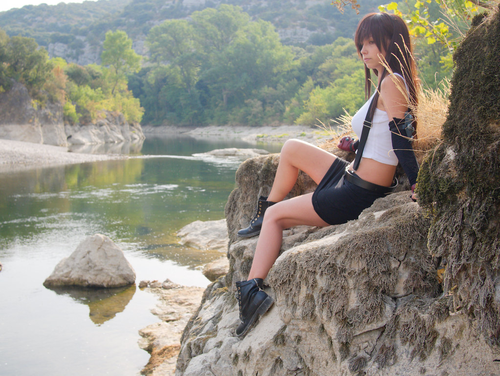related image - Shooting Tifa Lockhart - Final Fantasy - Gorges de l'Hérault - 2016-08-17- P1520552