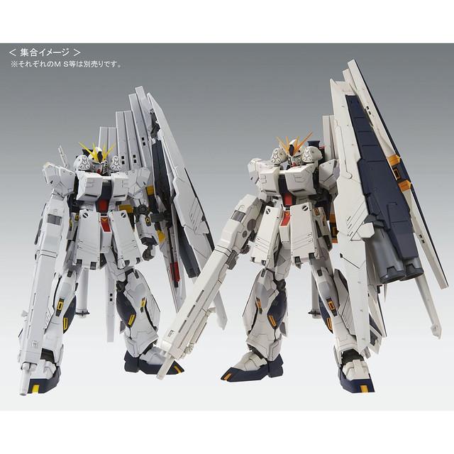 色調翻新,重裝出擊! MG 1/100 FA-93 HWS ν鋼彈 HWS Ver.Ka【PB限定】