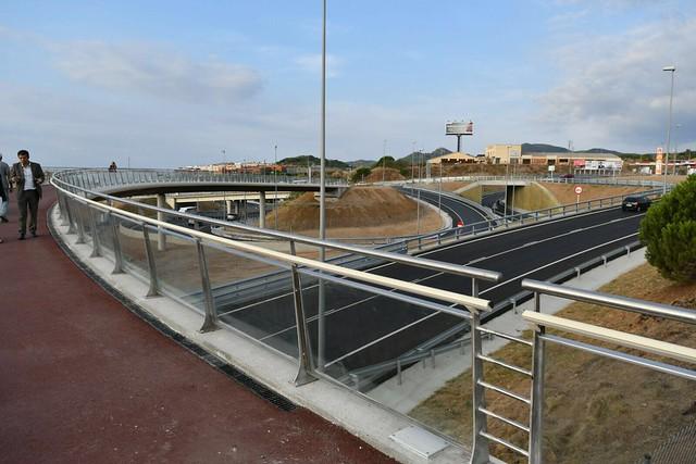 Inauguración enlaces C-32 Mataró