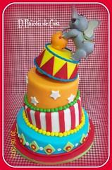 Tortas Infantiles Torcidas Elefante De Circo