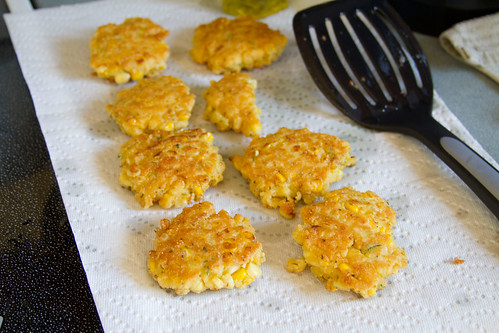 Corn and Summer Squash Cakes | Sugarcrafter