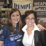 Julie Golob - 2012 SHOT Show - Rumpf & Kathryn Mennone