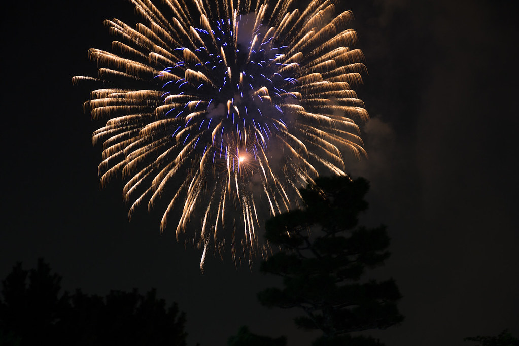 Big Fireworks at the Uji River