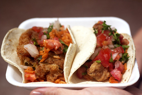 fish taco @ benito juarez