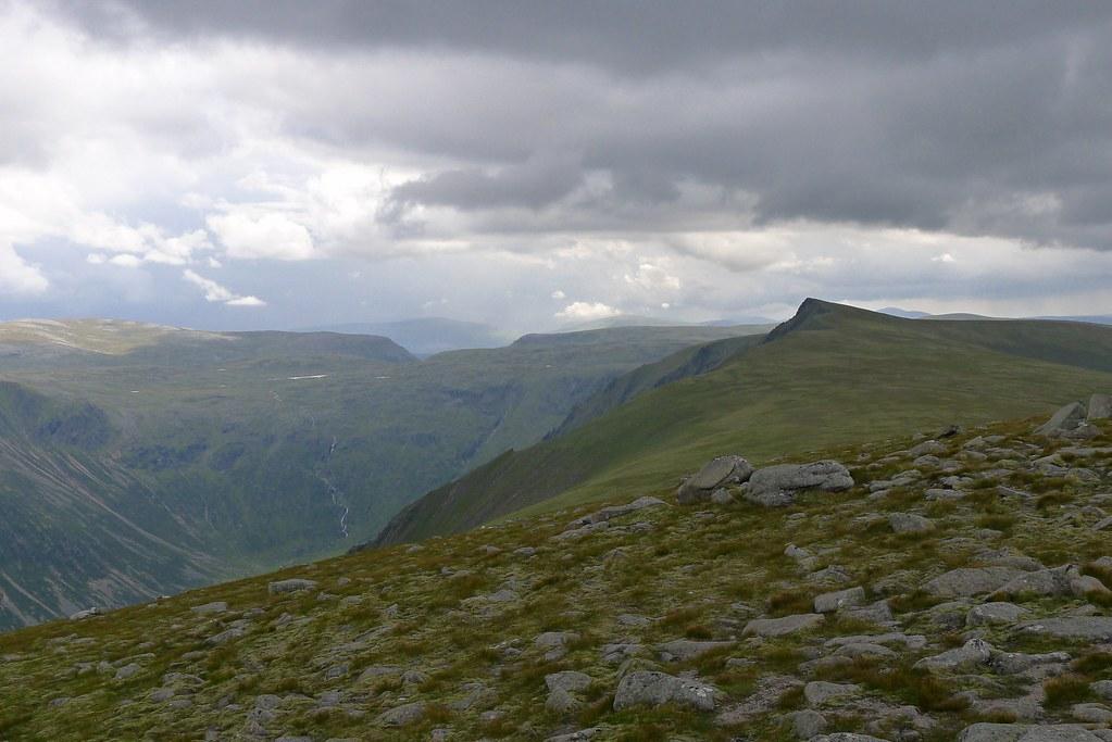 Sgor Gaoith above Glen Einich