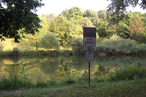 Baden verboten - Westpark