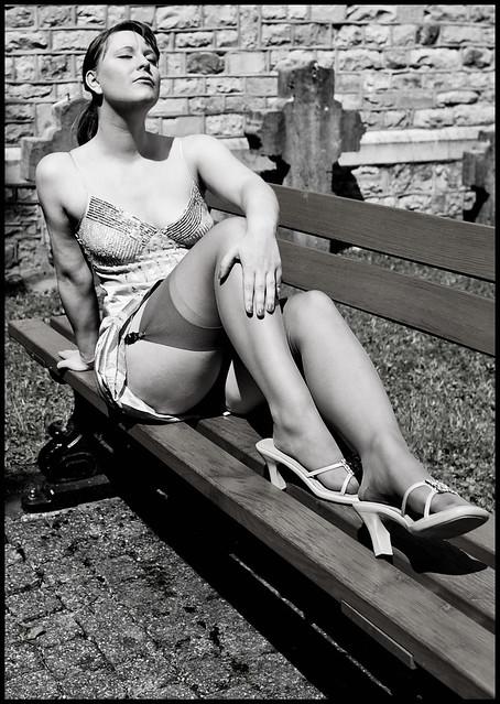Upskirt (Retro-Style)