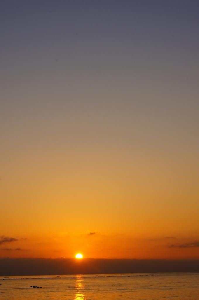 七星潭看日出