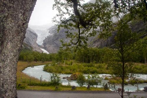 252 Parque Nacional Jostedal - Glaciar Briksdal