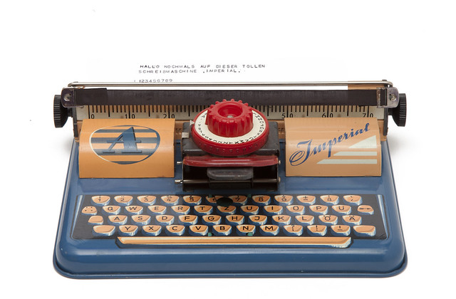 Imperial index typewriter