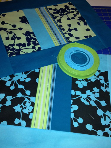 Pillow tops and binding
