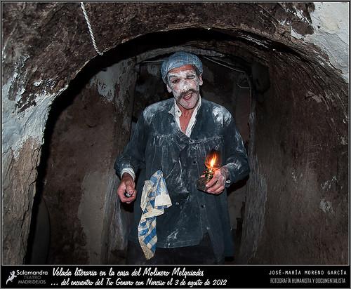 Velada literaria en la casa del Molinero Melquiades by JOSE-MARIA MORENO GARCIA = FOTOGRAFO HUMANISTA Y D