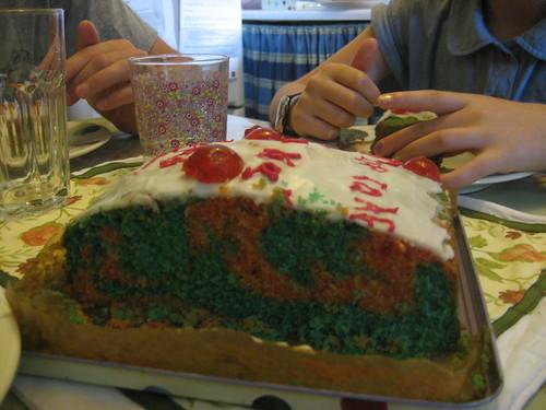 Cam's Portal cake